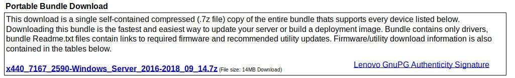 Lenovo Windows Driver Bundle - Usage Instructions